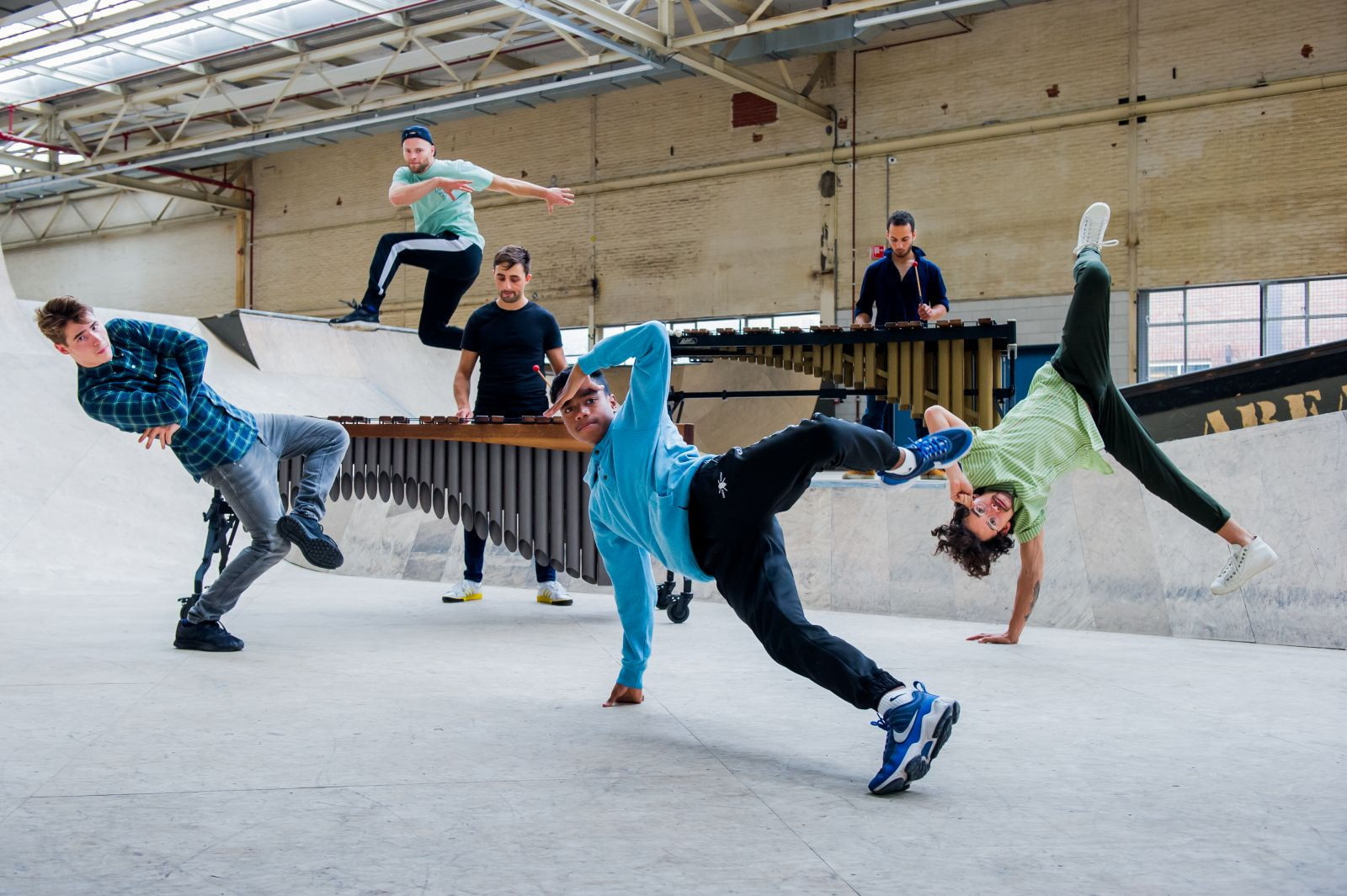 Tromp Emoves breakdance - Fotograaf: Claudia Hansen